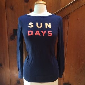 Lilly Pulitzer SUN DAYS Cotton Knit Top
